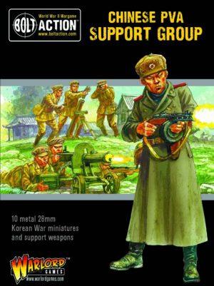 Warlord Games Bolt Action  Korean War (1950-1953) Korean War: Chinese PVA Support Group - 402218101 - 5060572503694