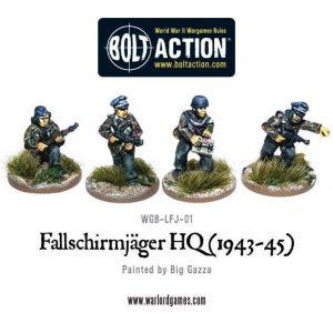 Warlord Games Bolt Action  Germany (BA) Fallschirmjager Command - WGB-LFJ-01 - 5060200846339