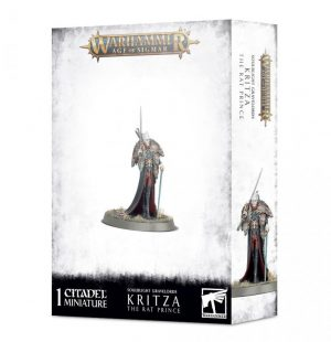 Games Workshop Age of Sigmar  Soulblight Gravelords Kritza, The Rat Prince - 99120207087 - 5011921139019