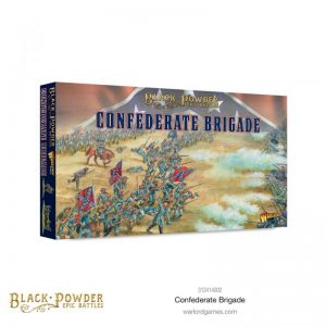 Warlord Games Black Powder Epic Battles  Black Powder Epic Battles Black Powder Epic Battles: ACW Confederate Brigade - 312414002 - 5060572509238