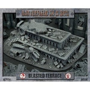 Battlefront   Battlefield in a Box Battlefield in a Box: Gothic Blasted Terrace - BB556 - 9420020222335