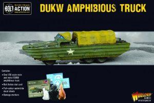 Warlord Games Bolt Action  Korean War (1950-1953) US DUKW Amphibious Truck - 402411301 - 5060572504561