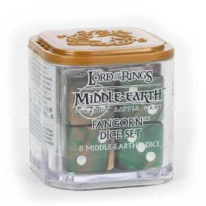 Games Workshop Middle-earth Strategy Battle Game  Good - Lord of the Rings Middle-earth SBG: Fangorn Dice Set - 99221499020 - 5011921144112