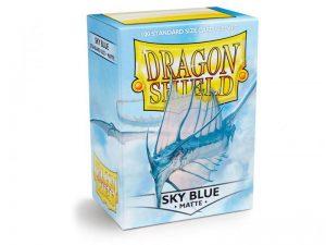 Dragon Shield   Dragon Shield Dragon Shield Sleeves Sky Blue (100) - DS100MSKYBLU - 5706569110192