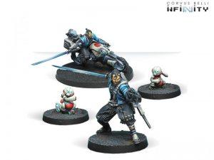 Corvus Belli Infinity  Non-Aligned Armies - NA2 Yojimbo, Mercenary Sword - 280716-0490 - 2807160004903