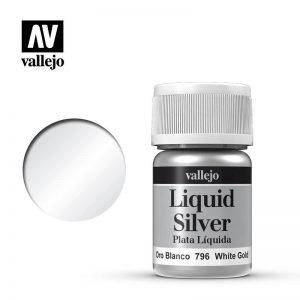 Vallejo   Liquid Gold Vallejo Liquid White Gold - VAL796 - 8429551707961