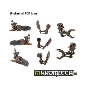 Kromlech   Orc Conversion Parts Mechanical CCW Arms (6) - KRCB001 - 5902216110007