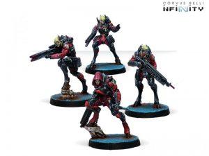 Corvus Belli Infinity  Combined Army Combined Army Shasvastii Nox Troops - 280699-0811 - 2806990008112