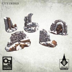 Kromlech Frostgrave  Kromlech Terrain City Debris [Frostgrave] (5) - KRBK046 - 5908291070267
