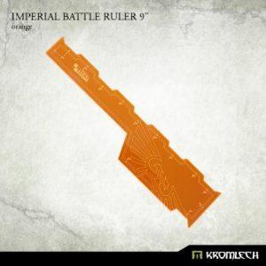 Kromlech   Tapes & Measuring Sticks Imperial Battle Ruler 9in [orange] (1) - KRGA053 - 5902216116542
