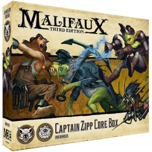 Wyrd Malifaux  Bayou Zipp Core Box - WYR23614 - 812152030923