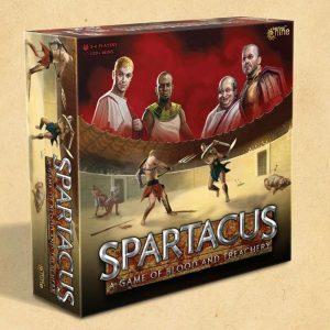 Gale Force Nine Spartacus: Blood & Treachery  Spartacus Blood & Treachery Spartacus: A Game of Blood & Treachery - SPAR01 - 9781947494770