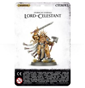 Games Workshop (Direct) Age of Sigmar  Stormcast Eternals Stormcast Eternals Lord-Celestant - 99070218004 - 5011921061174