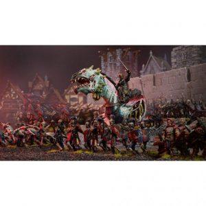 Mantic Kings of War  Undead Revenant King on Undead Wyrm - MGKWU203 - 5060469661650