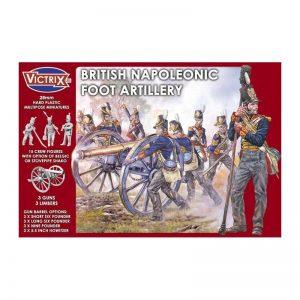 Victrix   Victrix British Napoleonic Foot Artillery - VX0010 - 5060191720113