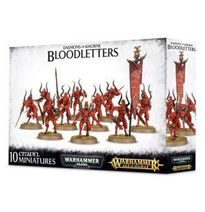 Games Workshop Warhammer 40,000 | Age of Sigmar  Blades of Khorne Daemons of Khorne Bloodletters - 99129915049 - 5011921092864