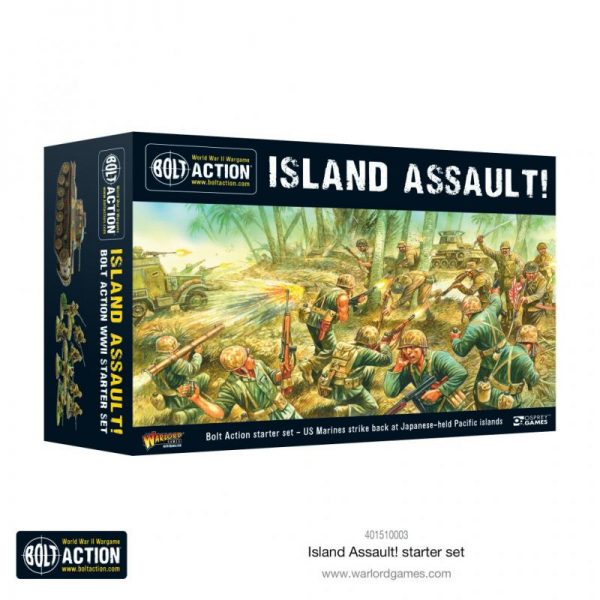 Warlord Games Bolt Action  Bolt Action Essentials Bolt Action: Island Assault! Starter Set - 401510003 - 5060572506879