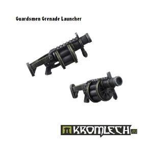 Kromlech   Imperial Guard Conversion Parts Guardsmen Grenade Launchers (5) - KRCB098 - 5902216110960