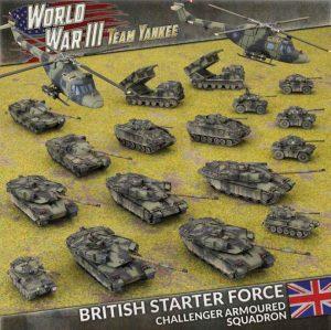 Battlefront Team Yankee  British WWIII: British Starter Force - TBRAB03 - 9420020249028