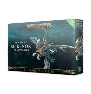 Games Workshop Age of Sigmar  Nighthaunts Easy To Build: Reikenor The Grimhailer - 99120207058 - 5011921100804