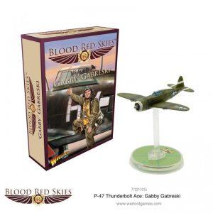 Warlord Games Blood Red Skies  Blood Red Skies Blood Red Skies: Republic P-47 Thunderbolt Ace Gobby Gabreski - 772211015 -