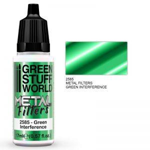 Green Stuff World   Metal Filters Metal Filters - Green Interference - 8436574509441ES - 8436574509441