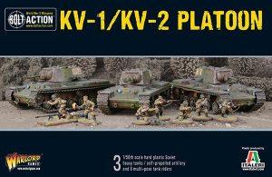 Warlord Games Bolt Action  Soviet Union (BA) Soviet KV1/2 Platoon - 402014005 - 5060393706960