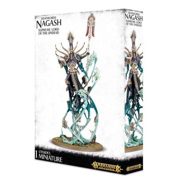 Games Workshop Age of Sigmar  Legions of Nagash Nagash, Supreme Lord of the Undead - 99120207029 - 5011921069576