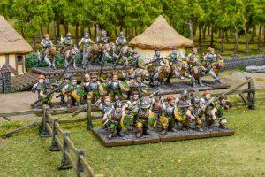 Mantic Kings of War  Halflings Halfling Battlegroup - MGKWHF301 - 5060469667263