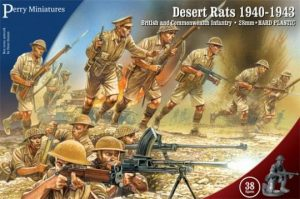 Perry Miniatures   Perry Miniatures British 8th Army - Desert Rats - WW1 - WW1