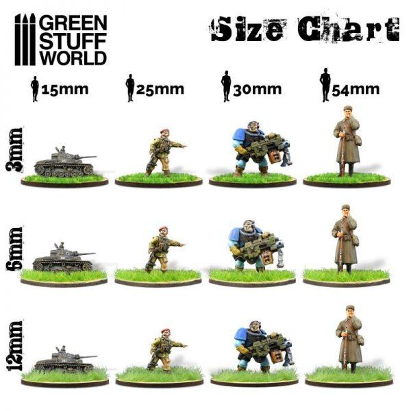 Green Stuff World   Sand & Flock Static Grass Flock 3 mm - Dry Yellow - 180 ml - 8436574505153ES - 8436574505153