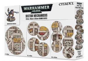 Games Workshop   Games Workshop Bases Sector Mechanicus: Industrial Bases - 99120199055 - 5011921084579