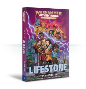 Games Workshop   Age of Sigmar Books Book 1: Realm Quest - City of Lifestone (Paperback) - 60100281234 - 9781784967826