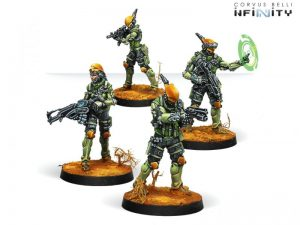 Corvus Belli Infinity  Non-Aligned Armies - NA2 Druze Shock Teams (2017) - 280727-0686 - 2807270006866