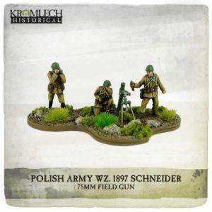 Kromlech   Kromlech Historical Polish Army wz.31 Mortar Team (mortar + 3) - KHWW2008 - 5902216117631