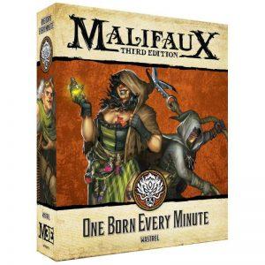Wyrd Malifaux  Ten Thunders One Born Every Minute - WYR23713 - 812152031050