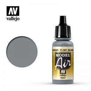 Vallejo   Model Air Model Air: BS Medium Sea Grey - VAL71307 - 8429551713078
