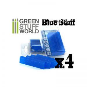 Green Stuff World   Mold Making Blue Stuff Mold (4 reusable bars) - 8436554365142ES - 8436554365142