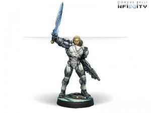 Corvus Belli Infinity  The Aleph Aleph Achilles v2 (Hoplite Armor) (Multi Rifle, CCW) - 280850-0598 - 2808500005987
