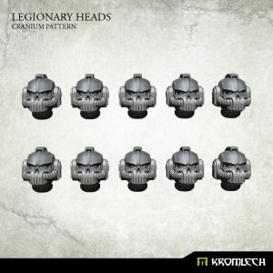 Kromlech   Legionary Conversion Parts Legionary Heads: Cranium Pattern (10) - KRCB229 - 5902216118188