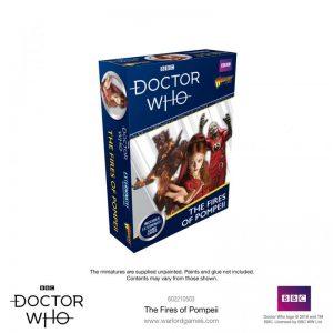 Warlord Games Doctor Who  Doctor Who Doctor Who: The Fires of Pompeii - 602210503 - 5060393709527