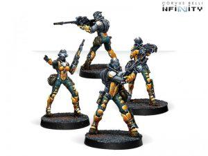 Corvus Belli Infinity  Yu Jing Yu Jing Celestial Guards - 281303-0741 - 2813030007417