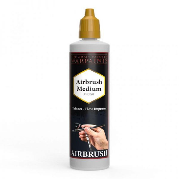The Army Painter   Warpaint Warpaints: Airbrush Medium - APAW2001 - 5713799200104