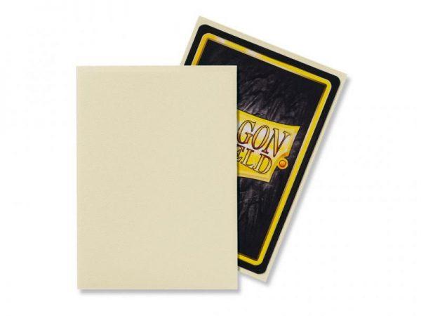 Dragon Shield   Dragon Shield Dragon Shield Sleeves Matte Ivory (100) - DS100MIV - 5706569110178