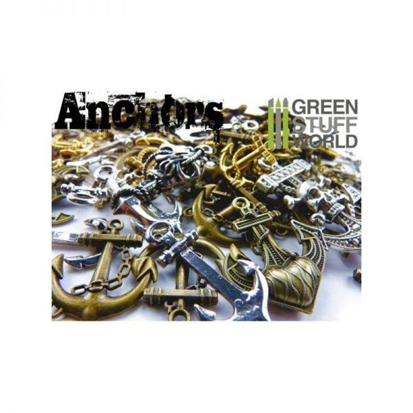Green Stuff World   Modelling Extras SteamPunk ANCHOR Beads 85gr - 8436554365821ES - 8436554365821