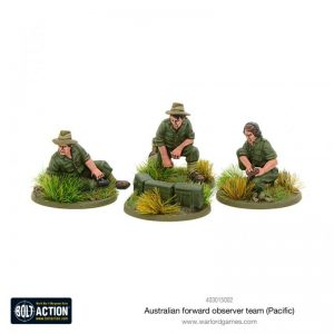 Warlord Games Bolt Action  Australia (BA) Australian Forward Observer team (Pacific) - 403015002 - 5060572500723