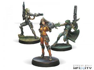 Corvus Belli Infinity  Infinity Essentials Dire Foes Mission Pack 5: Viral Outbreak - 280005-0447 - 2800050004472
