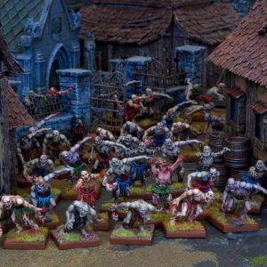 Mantic Kings of War  Undead Undead Zombie Swarm (Horde) - MGKWU33-1 - 5060208866698