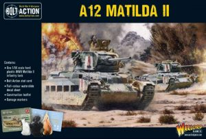 Warlord Games Bolt Action  Great Britain (BA) A12 Matilda II Infantry Tank - 402011019 - 5060572502413