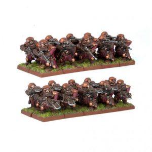 Mantic Kings of War  Dwarf Armies Dwarf Ironwatch Regiment - MGKWD22-1 - 5060208862225